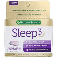 Print a coupon for $5 off one Nature's Bounty Sleep3 product
