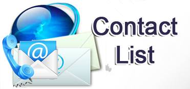 Master Manufacturers Contact List